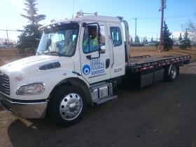 Bora Flatbed Tow Truck Edmonton