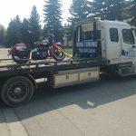 Motorcycle towing edmonton