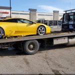 sport car towing edmonton